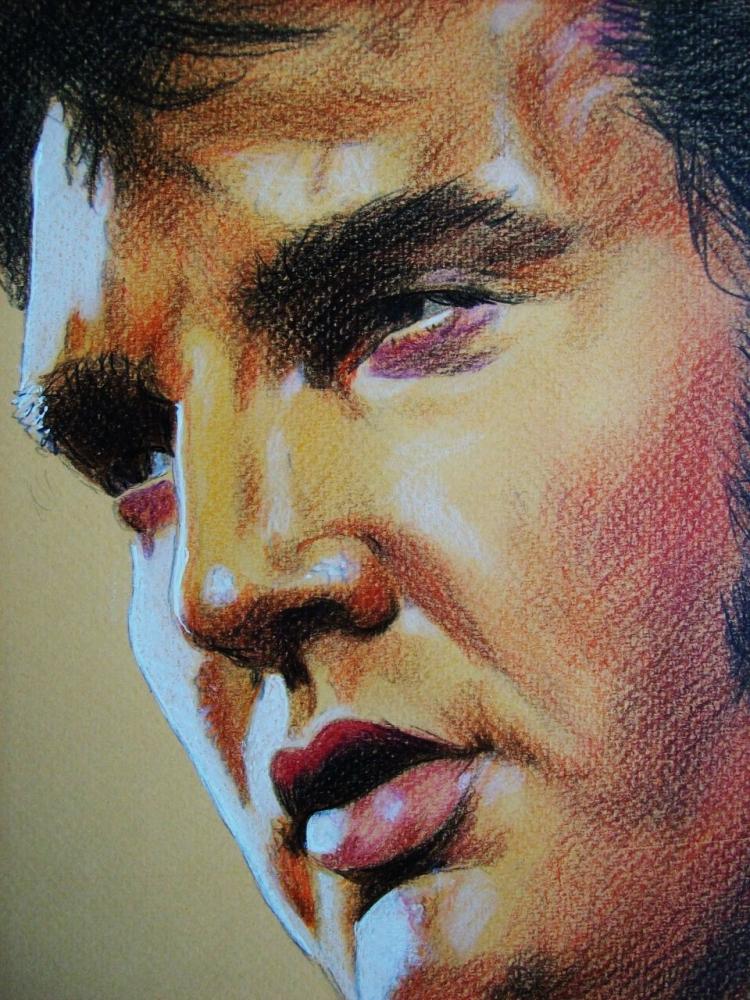 Elvis Presley por Tom-Heyburn